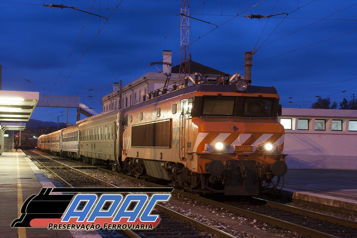 As locomotivas 2600 foram titulares dos mais prestigiados comboios portugueses, como o Sud Expresso.