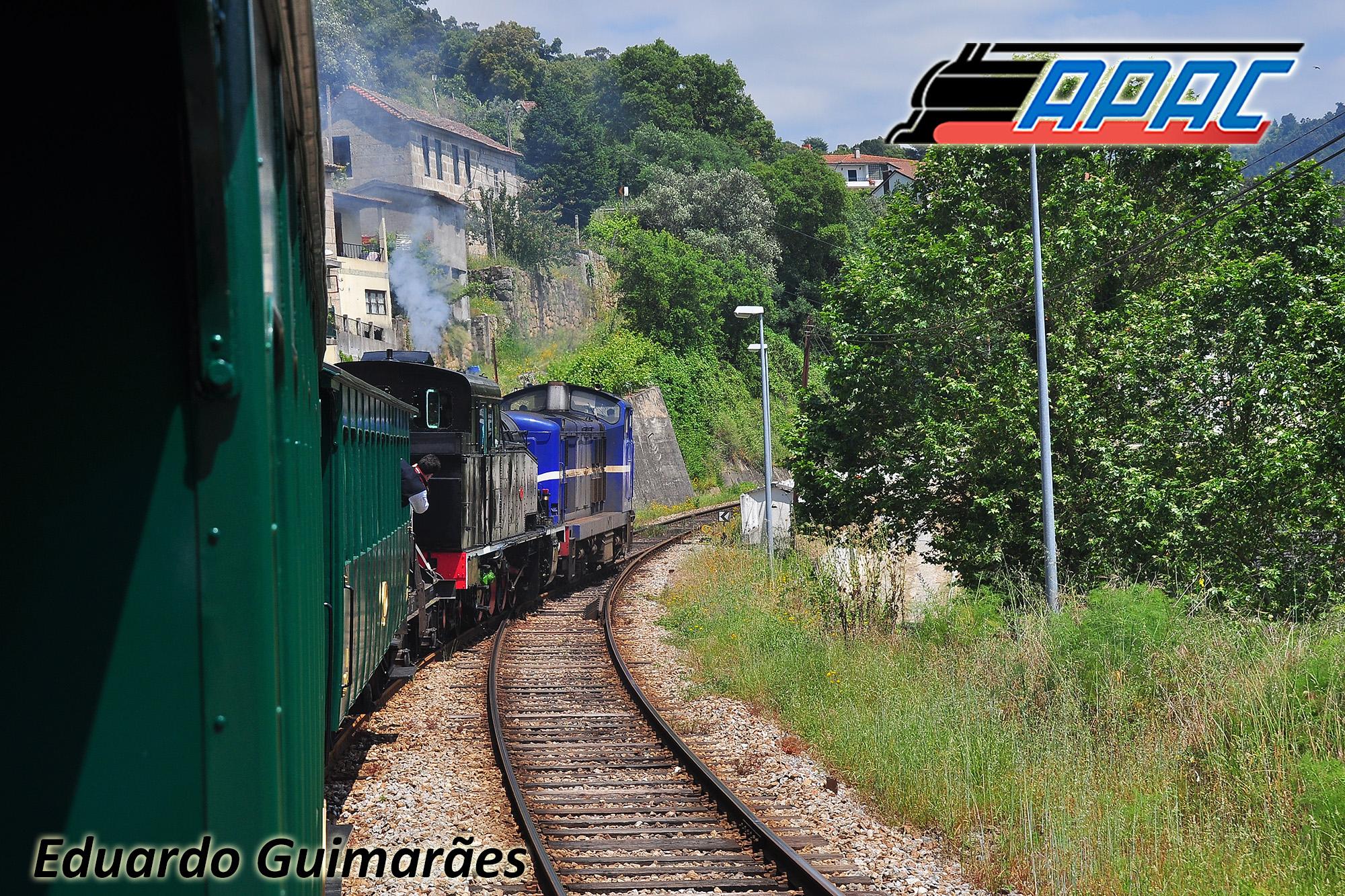 Viagem no Comboio Histórico até à Régua