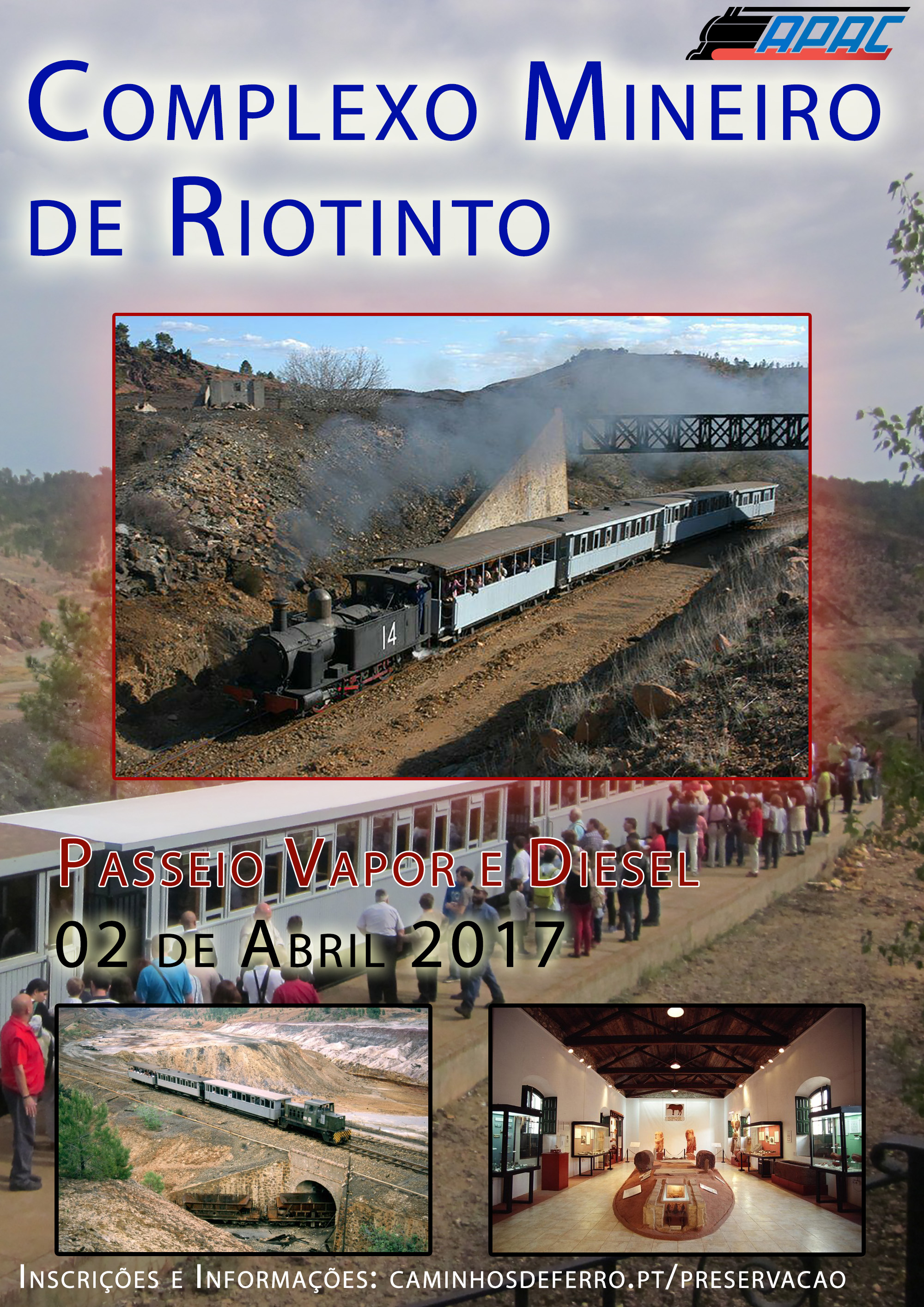 Visita de Estudo a Riotinto – Inscrições abertas