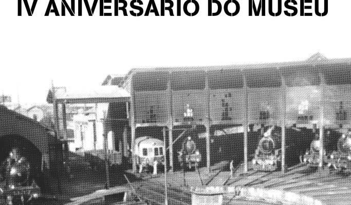Venha celebrar o aniversário do Museu Nacional Ferroviário!