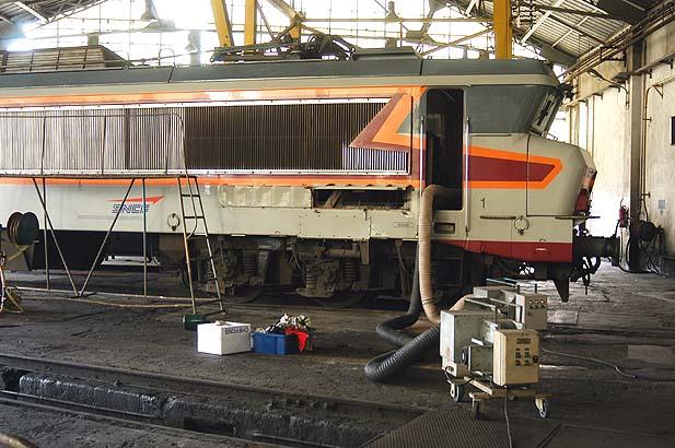Secagem dos motores, para evitar problemas em funcionamento. Foto: APCC 6570.